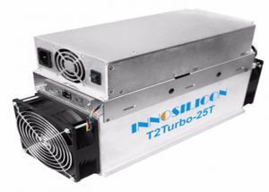 China Innosilicon T2 Turbo T2T 25TH/s SHA256 ASIC Chip with PSU Bitcoin Miner Machine on sale