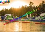 巨大な設計耐久の膨脹可能な水公園 Flaoting は海、湖のためのゲームをもてあそびます