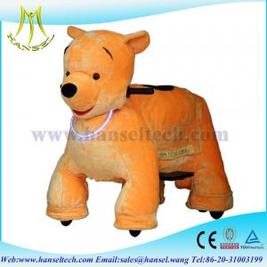 China Hansel Stuffed Elephant Animals Rides Battery Walking Toys Motorized Animals Rides on sale