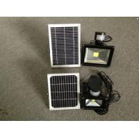 China High Power LED PIR 30w Flood light solar panel LED Spot light Motion sensor Flood lamp on sale