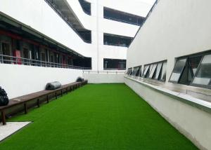 China Landscaping Field Commercial Artificial Grass Fire Resistant Decorative Low Maintenance on sale