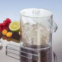 Acrylic Ice Bucket with Tongs