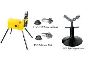 China Professional Hydraulic Pipe Grooving Machine 1 1/4 - 6  Tube Groove Machine on sale