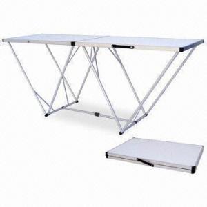Picnic Camping 6 5ft Aluminum Folding Wallpaper Table Measuring  X 80cm