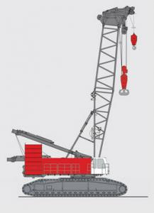 China Hot Sale 400 ton Crawler Crane QUY400 In China on sale