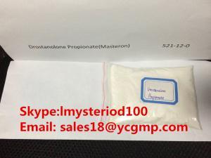 China Medicine Drostanolone Propionate Powder CAS 521-12-0 Cancer Treatment Steroid Masteron Propionate supplier