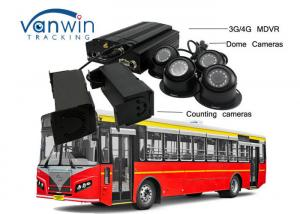 China 3G / 4G Real - Time Bus People Counter GPS Tracking OSD With Mouse / Remote Control on sale