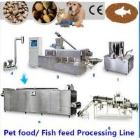 High Performance Dog Pet Food Production Line , Simple Operation Dog Food Processing Line