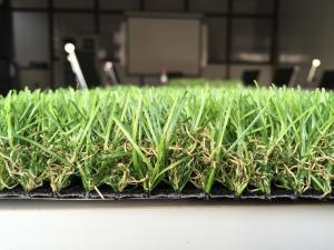 China Pet House 35mm Spine Monofil PE Fake Lawn Artificial Grass For Landscape on sale