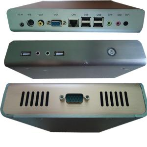 China Atom N270 1.6Ghz Windows XP Thin Clients PC Station For Office on sale