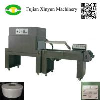 Low price semi automatic sealing and shrink wrapping machine price