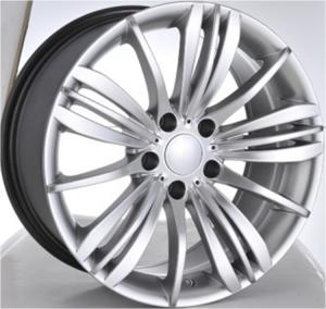 China Car Rims 20 For BMW 740Li/ Hyper Silver Customized 20 inch Forged Aluminum Rims on sale