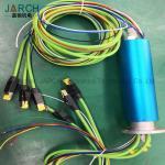 Servo Motor Encoder Pneumatic Slip Ring 11 Rings With Copper Plating Gold Material