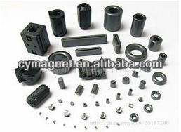 China Big Special Shape Ferrite Magnet on sale