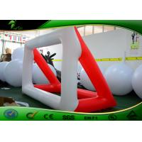 Outdoor Race Inflatable Shapes Giant Inflatable Soccer Field Football Pitch Field