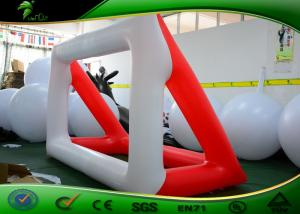 China Outdoor Race Inflatable Shapes Giant Inflatable Soccer Field Football Pitch Field on sale