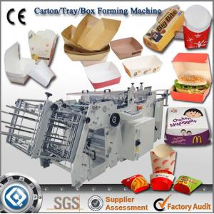 China China Best Quality QH-9905 Automatic Carton Box Making Machine Prices on sale