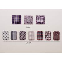 China OEM Personalized Printed Purple Plastic Beads Flat Back Gems on sale