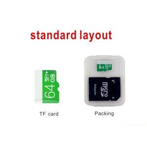 China Paquet transparent 48 x 39 x 7.5mm 6.5g de carte de mémoire de couleur avec pp matériels on sale