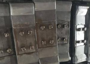 Quality 500CA Rubber Caterpillar Track Pads , Crawler Machine Chain Pad Anti Cutting for sale