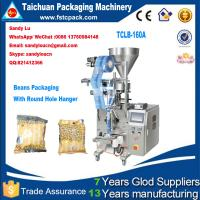 China SoyBeans Vertical Packaging Machine, beans packing machine with round hole hanger on sale