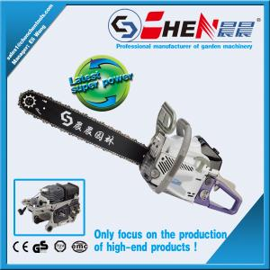 China gasoline chain saw 5800 58cc chain saw with CE on sale