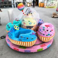 Miniature Kids Amusement Ride Kiddie Rides With Ice Cream Cockpit