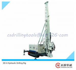 China XD-6 Hydraulic Drilling Rig for engineering coring; soil sampling; Soil Investigation; spt equipment on sale