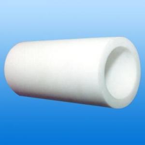China Alto uso del alambre de resistencia química del blanco PTFE del tubo natural del Teflon on sale