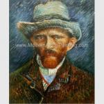Vincent Van Gogh Paintings Self Portrait Reproduction On Canvas For House Decor