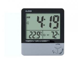China Digital Clock Thermometer in low price for promotion on sale