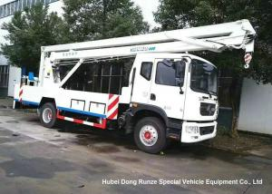 China DFAC D9 20m Aerial Platform Truck EURO 5 , Ruck Mounted Hydraulic Platform on sale