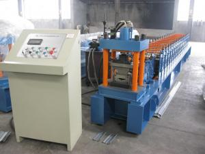 China High Precision Metal Shutter Door Forming Machine 20m / min 0.4mm - 0.8mm on sale