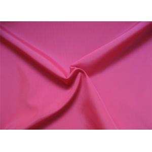Red Stretch Taffeta Fabric , 75d 190t Polyester Taffeta Shrink - Resistant