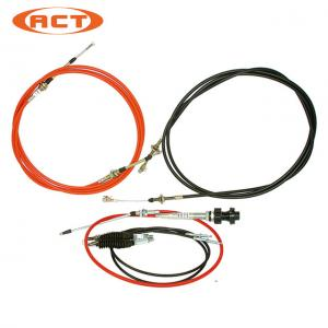 China Throttle Motor Cable Accelerate Cable Excavator Replacement Electronic Spare Parts on sale