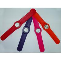 Pop-out animal slap watch with changeable band