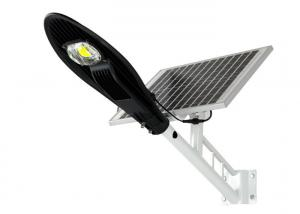 China 100W 2000 Lumen Solar Powered LED Street Lights / LED Solar Street Light For Road on sale