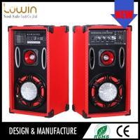 Factory direct selling super dj bass speaker , line array speaker box , 2.0 active speaker