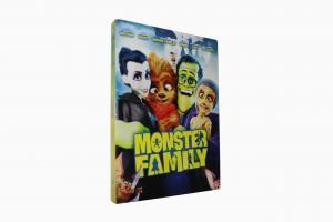 China 2018 newest  Monster Family disney dvd movies cartoon movies kids movies with slip cover case drop ship on sale
