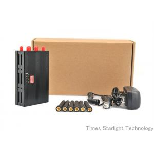 China Portable WiFi Signal Jammer With 6 Channels , Pocket Cell Phone Jammer on sale