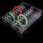 Countertop PMMA Acrylic Bracelet Rack Acrylic Necklace Stand For Super Mall