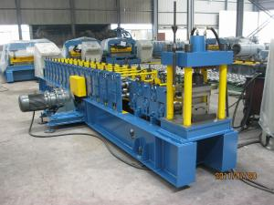 China Galvanized Steel Strip Roll Forming Machinery 55mm Diameter of Shaft on sale