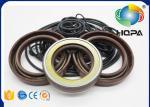 HPV102 HPV118 Pump Seal Kit for Hitachi ZAXIS200-3 Main Pump Black + Brown