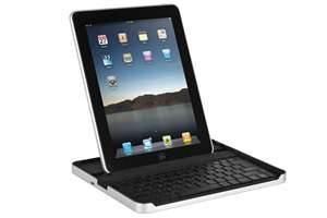 China Stylish bracket leather Ipad 1 / Ipad2 Case with Bluetooth Keyboard (ECO friendly) on sale