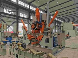 China CNC 5G POLE SHUT-WELDING MACHINE, MODEL: HM800/12000 on sale
