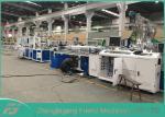 300mm Plastic Profile Extrusion Machine For PVC Ceiling Panel Low Power Consumption