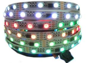China Programmable Magic RGB Digital LED Strip Lights Full Color Chasing Rope DC12V on sale