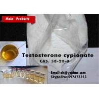 White Powder Androgenic Steroids Testosterone Cypionate 10g Sample Package