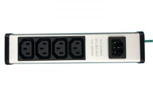 China Heavy Duty 4 Way PDU Power Distribution Unit For Installation On Kitchen / Cabinet on sale