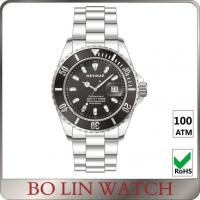Black Dial Stainless Steel Bracelet Watch For Girl Japan NH35 Movement